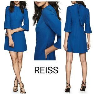 NEW Reiss Cora Bell Sleeve Shift Dress w/ Pockets